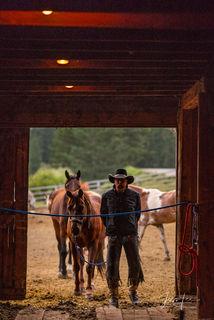Cowboy Barn Time