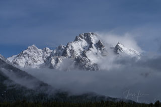 Grand Teton, national park, wyoming, snow, spring, wind,