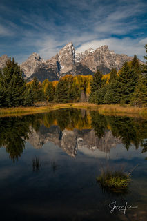 Grand Teton, Tetons, autumn, color, fall, mountains, national park, wyoming, fine art, print, jess lee, art
