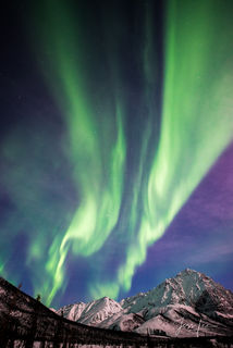 Arctic, aurora, frozen, autumn, tundra, Alaska, Norway, , Global warning