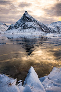 Lofoten, beauity, cold, cowboy, ice, norway, snow, western, winter, Large format, quality, museum, fine art, print, jess lee, artist, photographer, limited edition, high quality, high resolution, beau