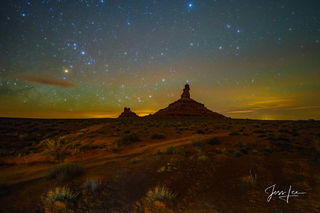 Valley of the Gods by Starlight
