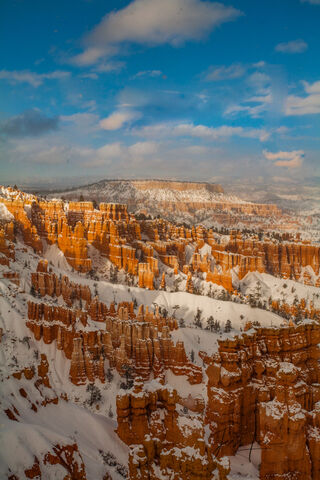 Bryce Canyon Winter Afternoon