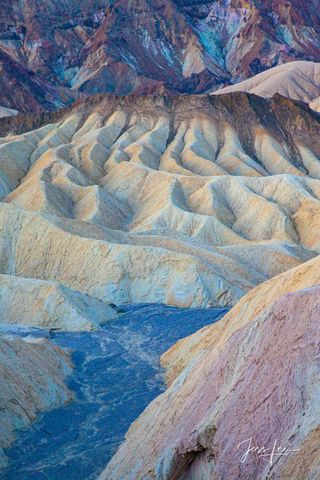 River of Blues in Death Valley, California