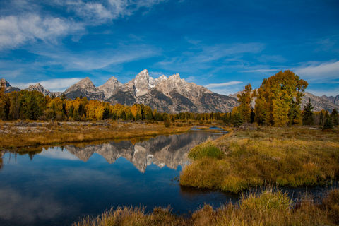 Calm Water in the Tetons