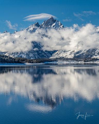 Grand Teton Winter Reflection