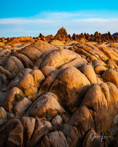 California's Alabama Hills in the Mojave Desert