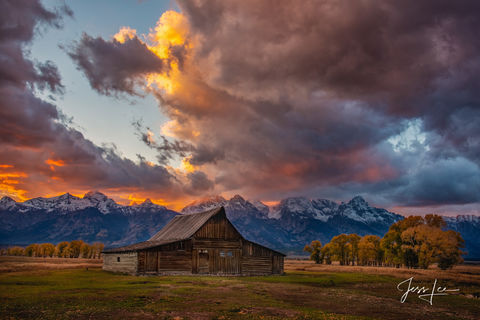 Magical Teton Sunset Picture