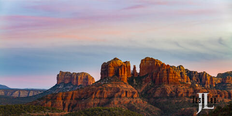 Evening Red Rocks