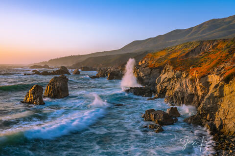 Big Sur Picture.  Enjoy the beauty of the California Coast order your print today