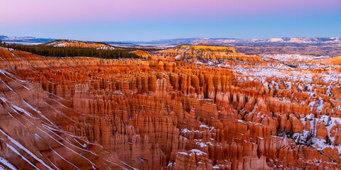 Panoramic Morning Glow