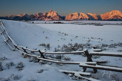 Grand Teton Alpenglow