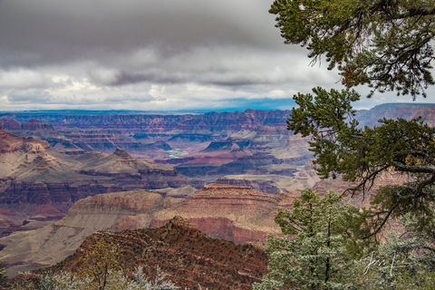 View of the Grand Canyon in Arizona.