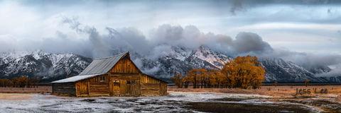 Teton Barn Post-Storm