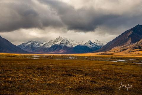 Landscape photo of pass in Alaska