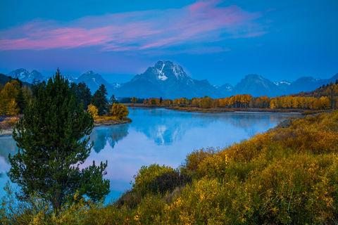 Autumn Glory Reflection