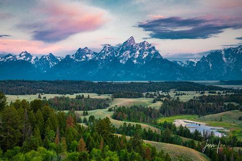 TETON SPLENDOR   Teton Range