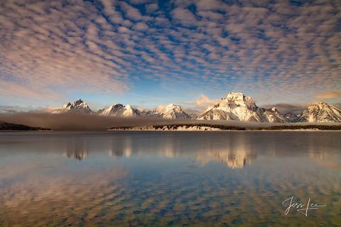 Winter Cloud Reflection
