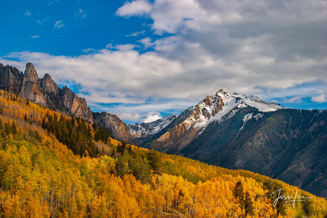 Photo, mountain photography, Print, Fine Art, colorado, Mountains, Autumn, color, Large format, quality, museum, Jess Lee, Fine art american artist, photographer, limited edition, high quality, high r