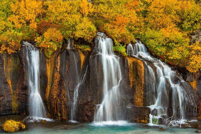 Weeping Icelandic Falls
