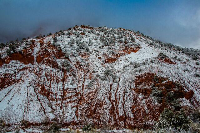 Winter run off Zion