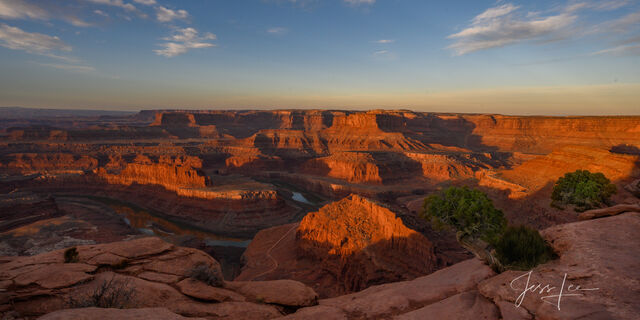 Colorado River Overlook from Dead Horse Point