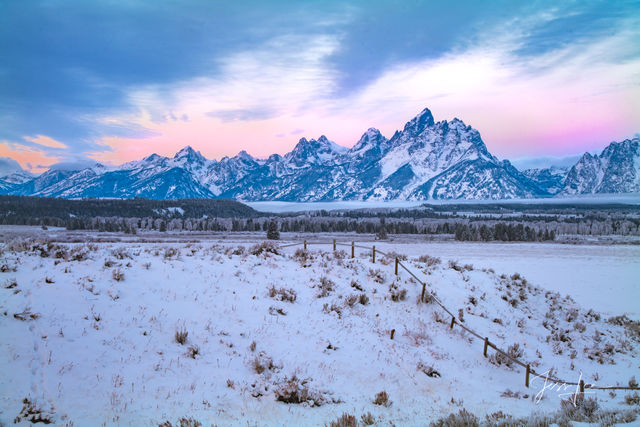 Grand Teton Early Winter Photography Workshop and Instructional Photo Tour