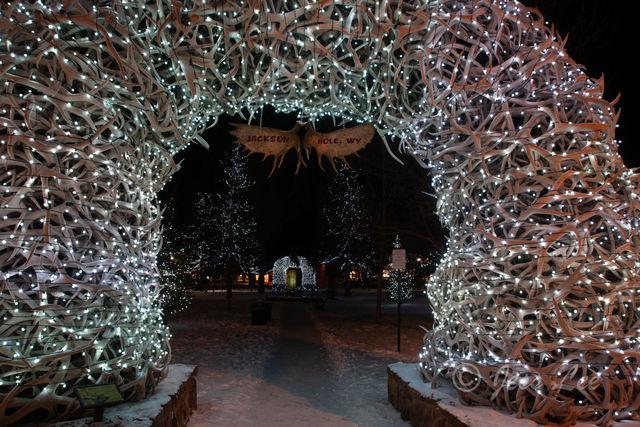 grand teton, Tetons, winter, Wyoming, Cold, Snow, elk antler, arch,