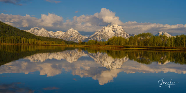 Teton Range double take