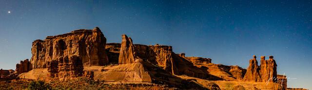 Nuns at Night Pano