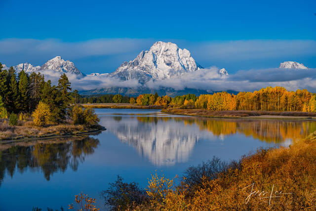 Perfect Morning in the Tetons