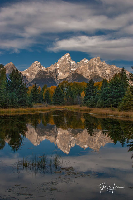 Reflection of the Tetons