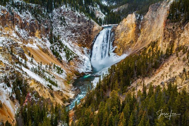 Spring flow on the Yellowstone