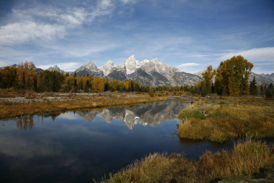 Schwabacher's Landing Autumn Reflection