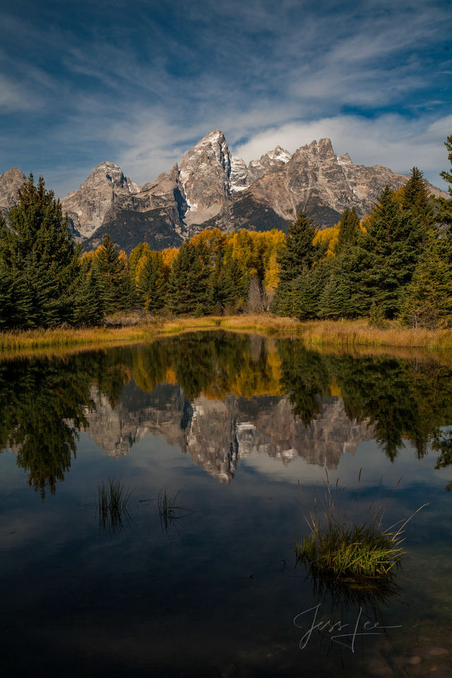 Magic Teton Reflection