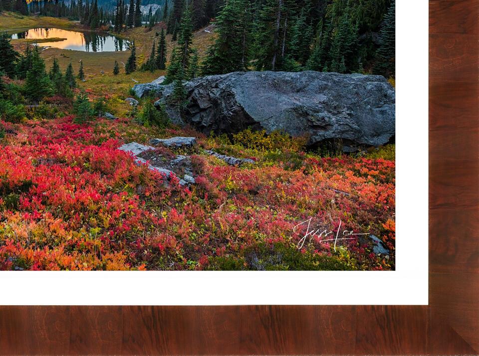 Framed Ultra Lumachrome® HD Trulife® Acrylic Print