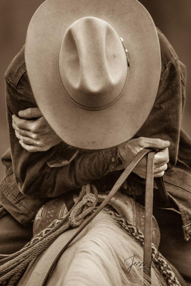 Tired Cowboy