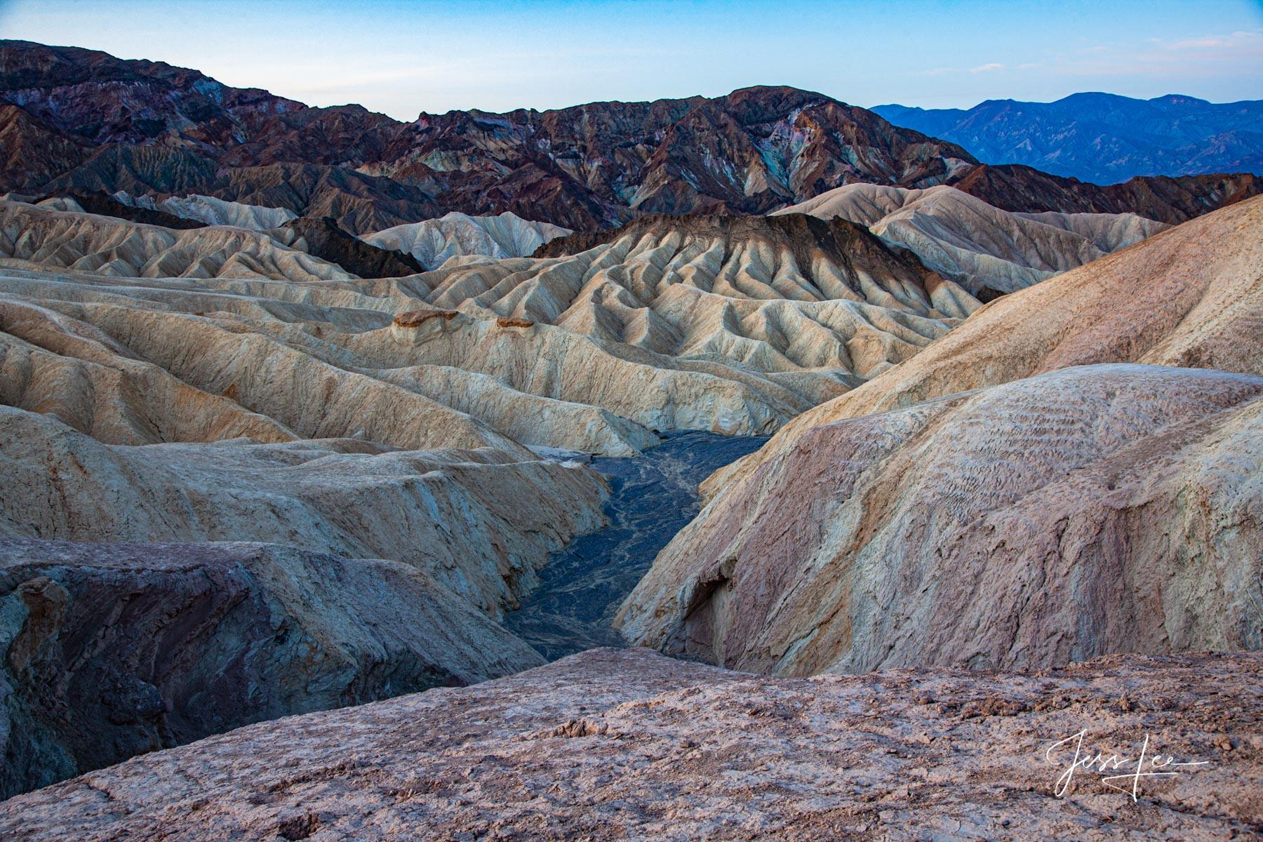 Death Valley Badlands Desert California's Death Valley Desert. 50 Exclusive high-resolution Museum Quality Fine Art Prints. Photos...