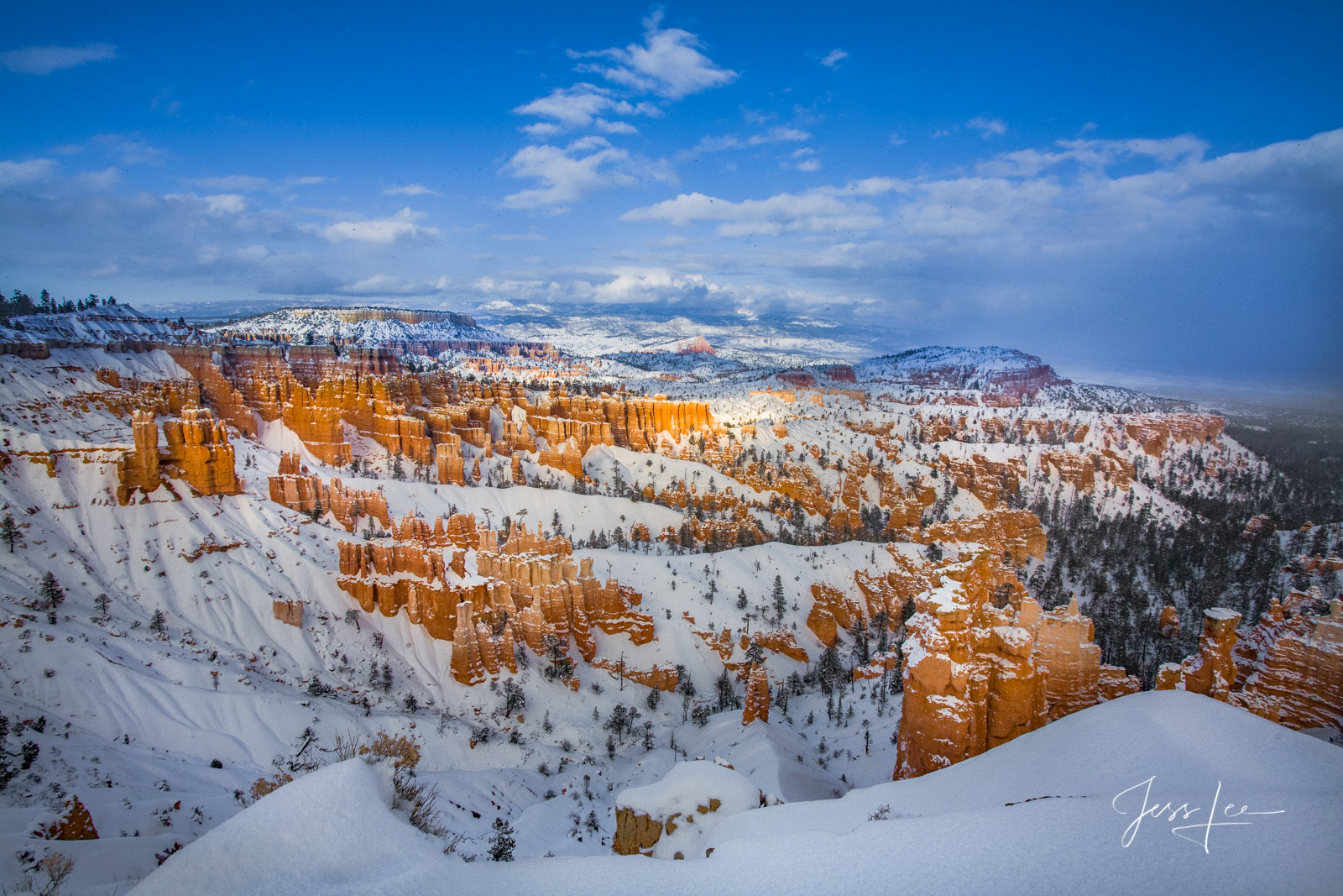 mountain photography, Bryce, Canyon, redrocks, snow, Utah, Large format, quality, museum, fine art, print, , jess lee, artist, western, cowboy, photographer, limited edition, high quality, high resolu, photo