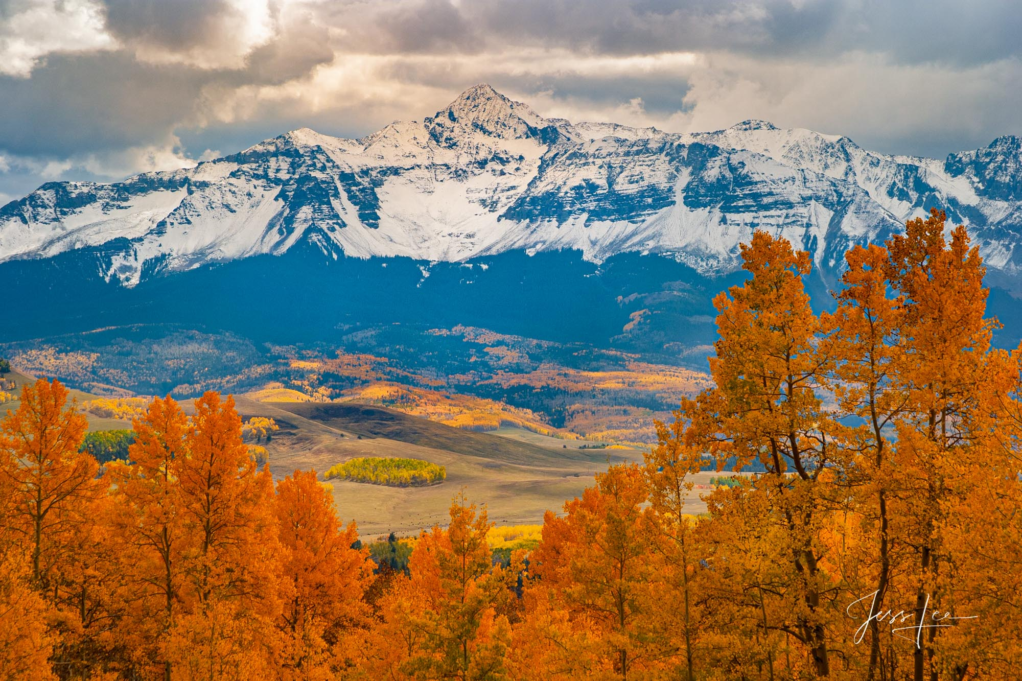 A Colorado Fall  Print during the peak of Autumn Color in southeast Colorado. A limited Edition Fine Art print of 200 archival...