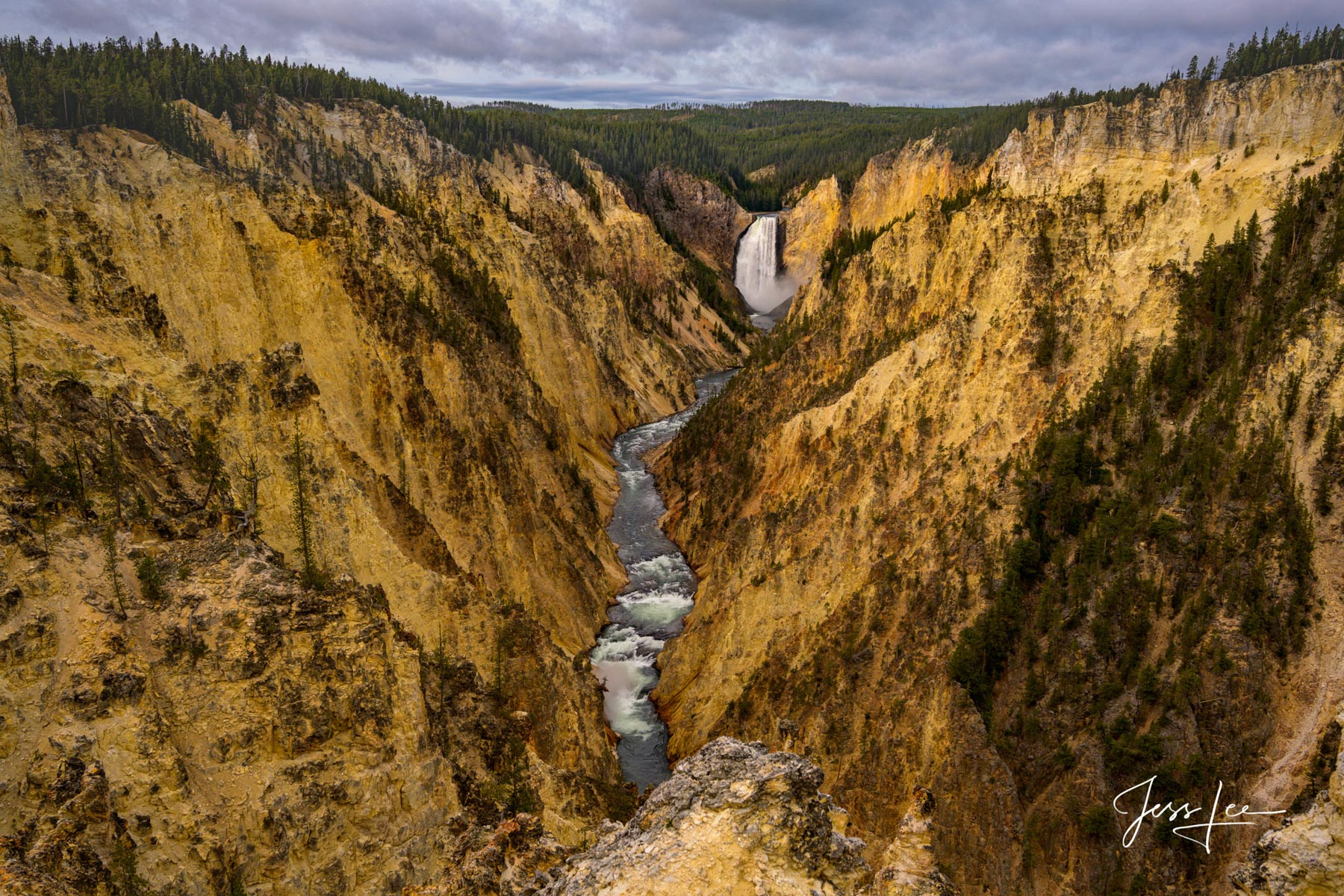 Limited Edition of 50 Exclusive high-resolution Museum Quality Fine Art Prints of the awesome Grand Canyon of the Yellowstone...