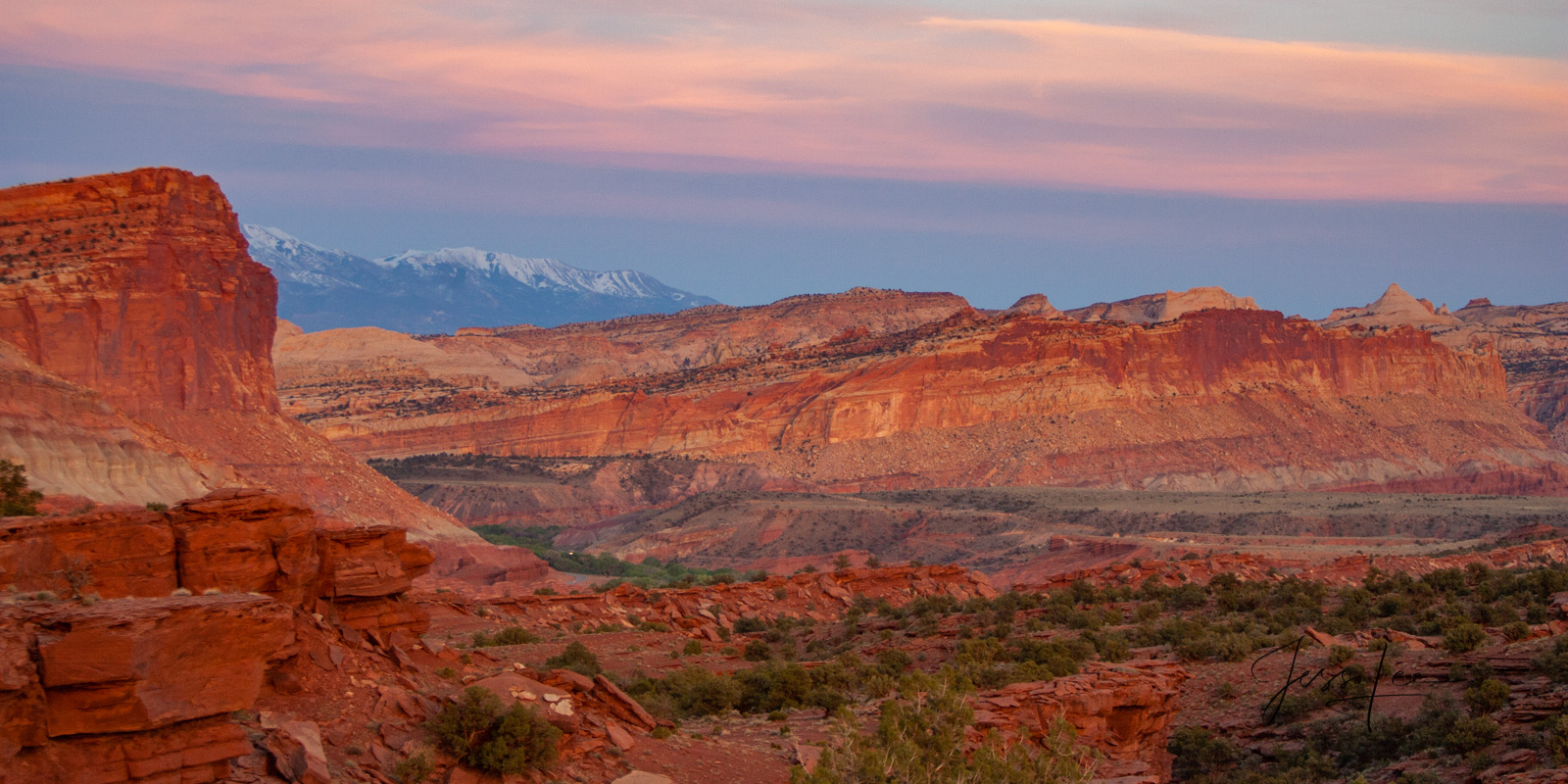 Never Ending a Limited Edition of 50 Fine Art Prints Capitol Reef, San Rafael Swell and the Waterpocket Fold are some of the...