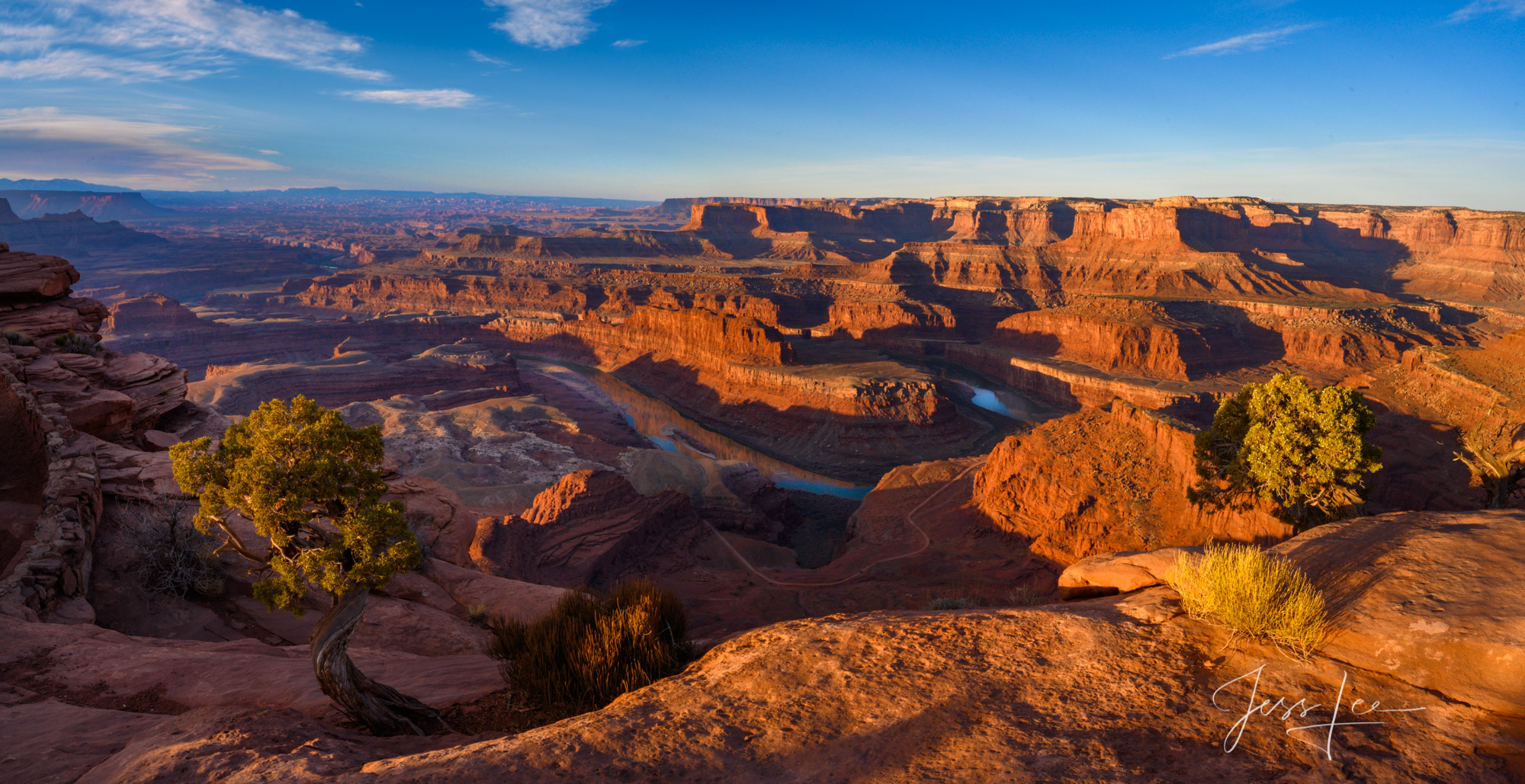 Deadhorse point overlook of the Colorado River