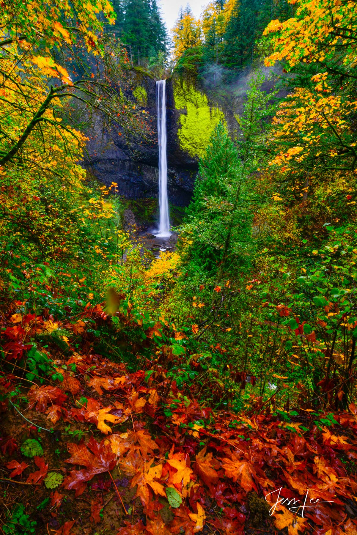 Limited Edition of 50 Exclusive high-resolution Museum Quality Fine Art Prints of waterfall Landscapes. Photos copyright © Jess...