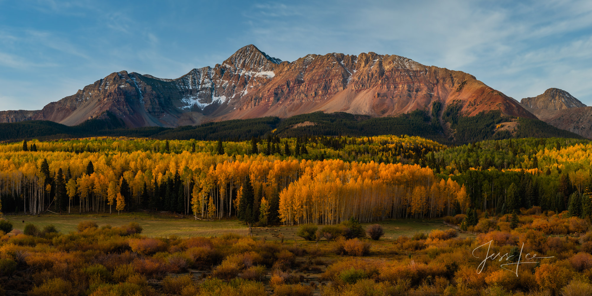 Colorado, fall color, print, , photo
