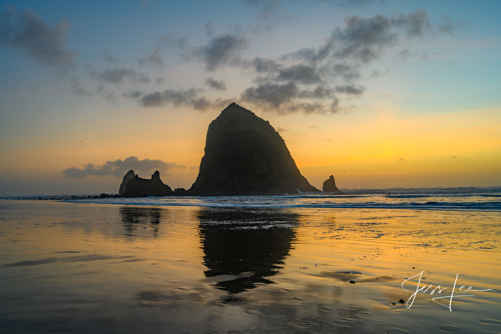 Fine Art Limited Edition Photography of the Pacific Coast Oregon Beach Photography.  This is part of the luxurious collection...
