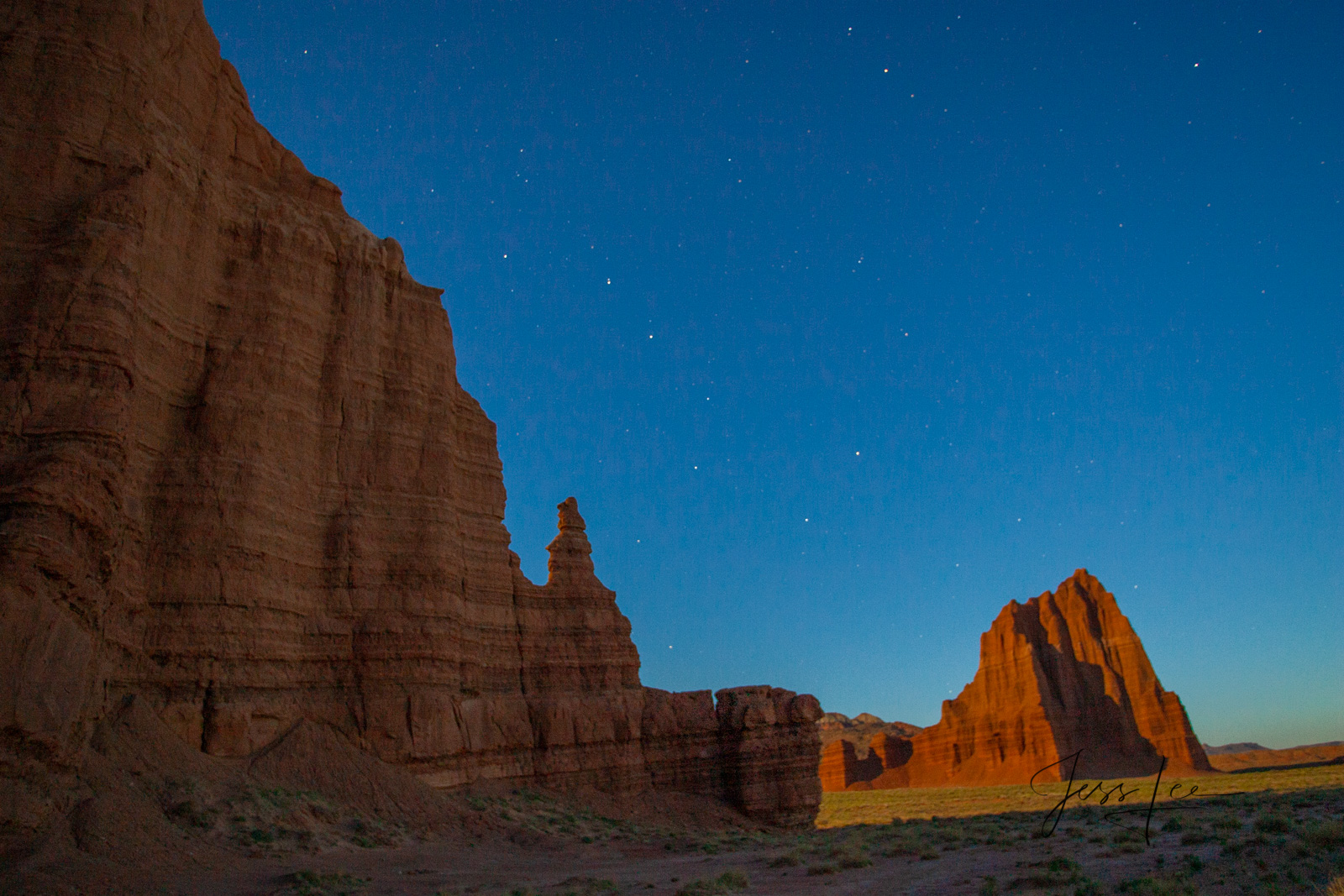 Temple of the Moon a Limited Edition of 50 Fine Art Prints Temple of the Moon : Capitol Reef, San Rafael Swell and the Waterpocket...