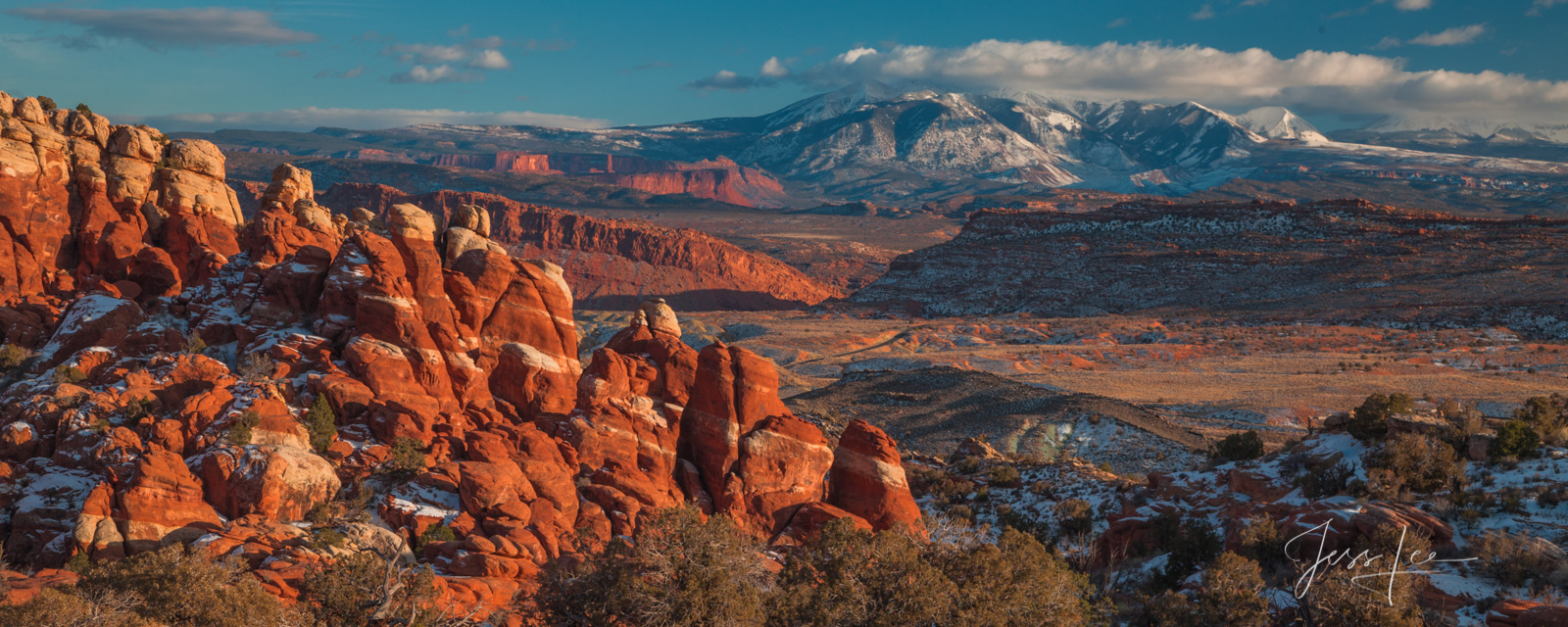 FINE ART LIMITED EDITION  PHOTO PRINT OF THE BLUFFS IN ARCHES NATIONAL PARK Arches Bluffs Landscape photo print of Utah Landscape...