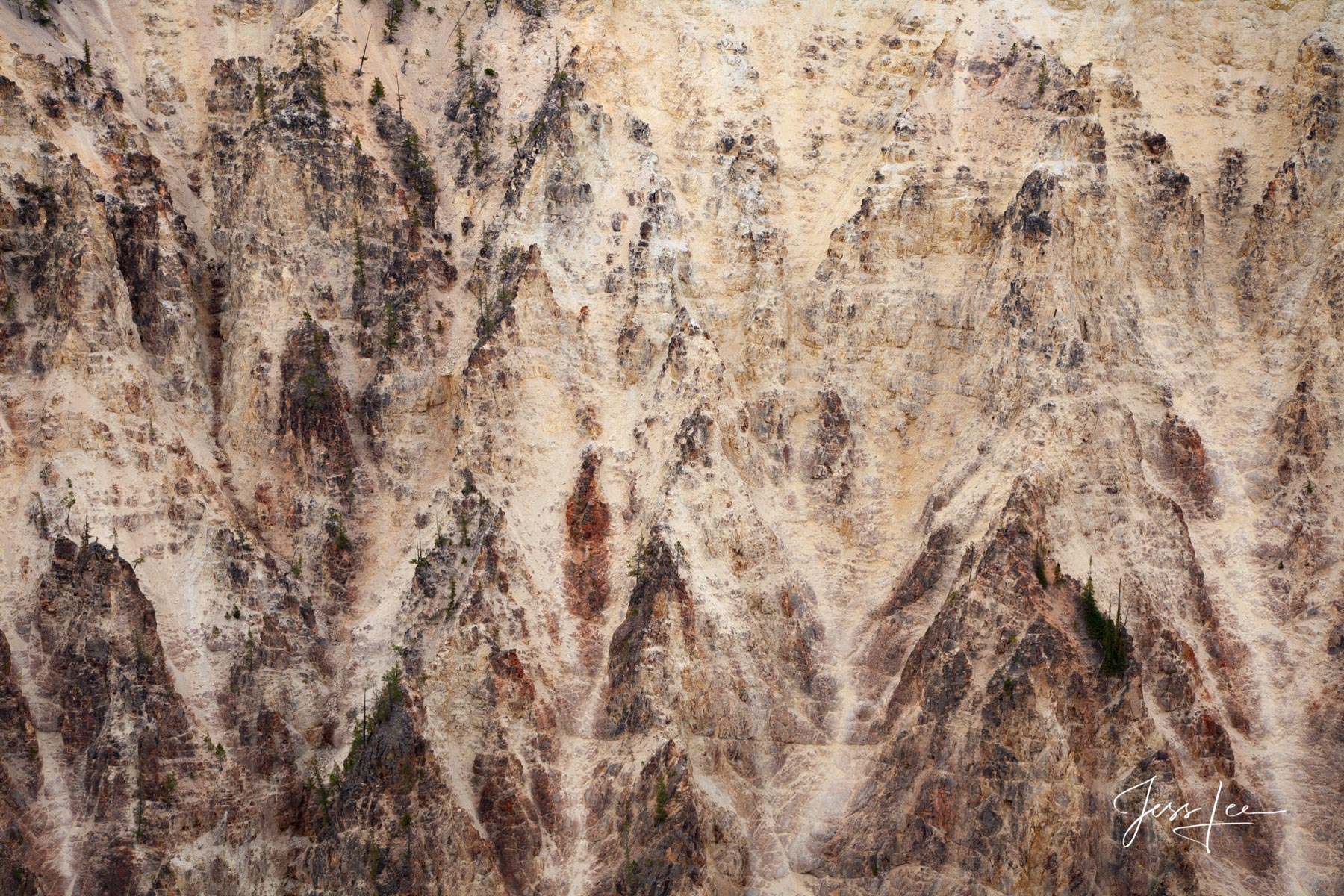 Limited Edition of 50 Exclusive high-resolution Museum Quality Fine Art Prints of Abstract Canyon Wall Photography. Photos Copyright...