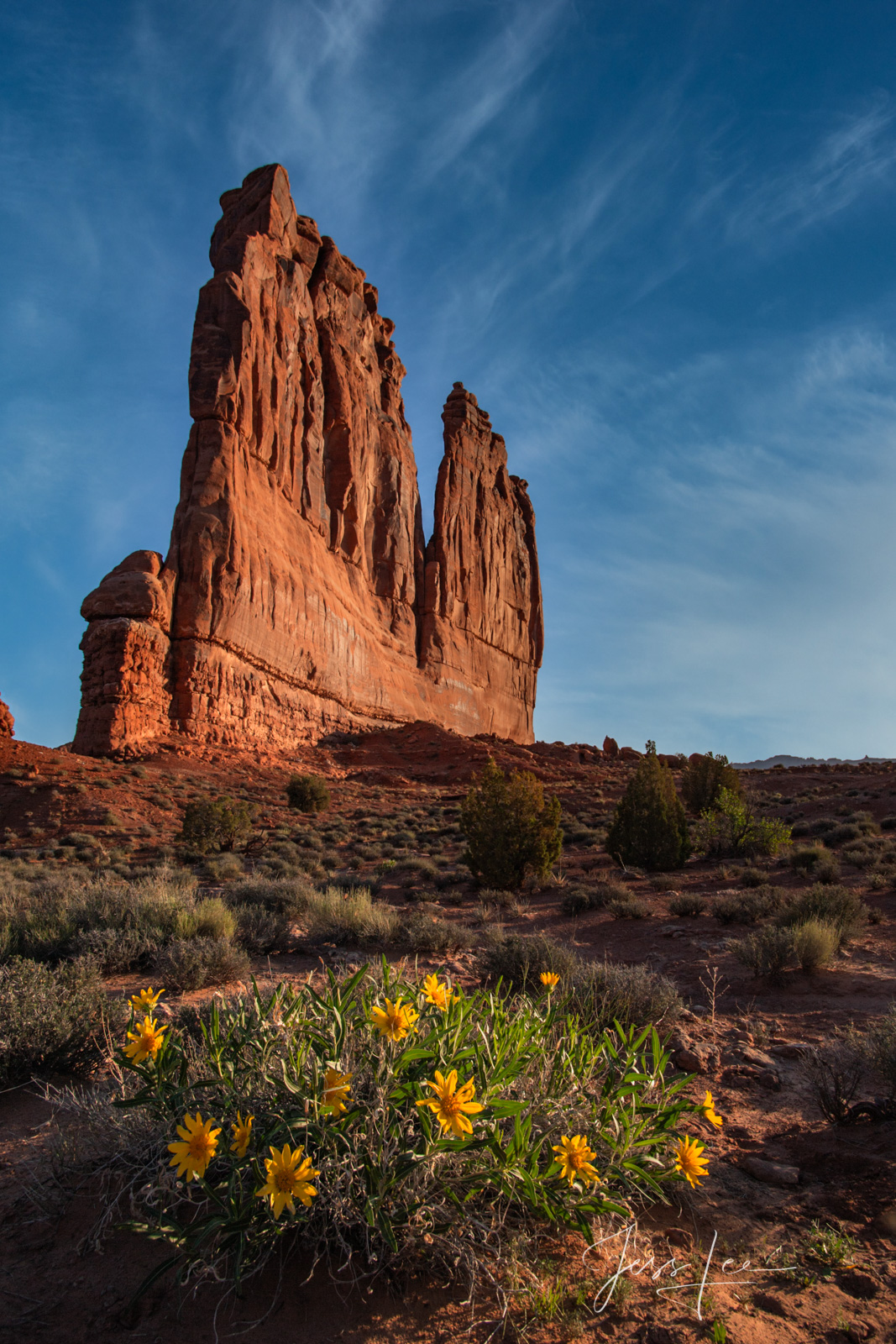 FINE ART LIMITED EDITION PHOTOGRAPHIC PRINT OF THE COURTHOUSE IN ARCHES NATIONAL PARK Arches Courthouse Landscape photo print...